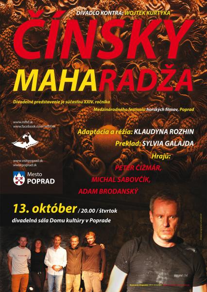 A3 Cinsky Maharadza Divadlo Kontra